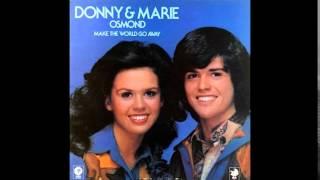 Donny & Marie Osmond ~ Living On My Suspicion