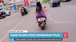 Viral Video Mandi Di Atas Motor  Redaksi Pagi 141219