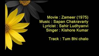 Tum Bhi Chalo Hum Bhi Chale - Zameer - Full Karaoke
