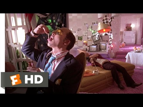 Fear and Loathing in Las Vegas 1010 Movie CLIP  Too Much Adrenochrome 1998 HD