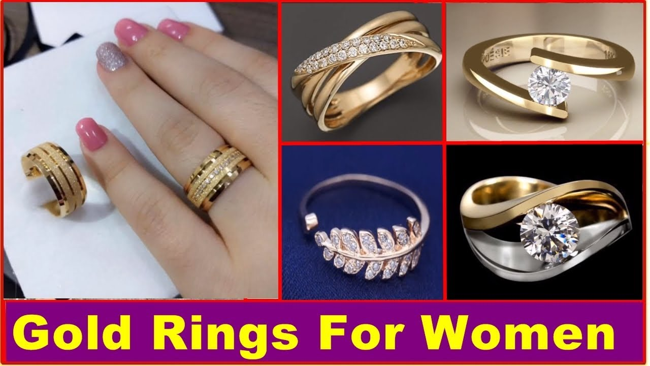 Gold Ring Gold Rings For Women Rings For Women Simple Gold