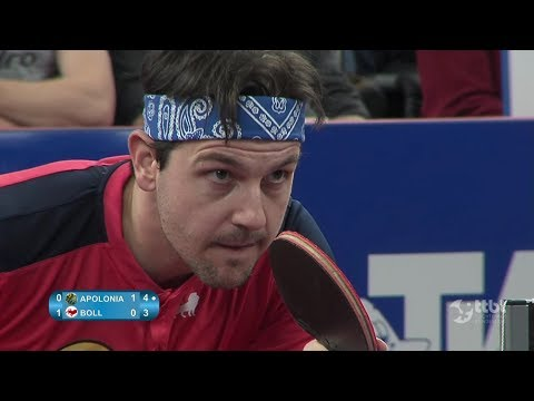 Timo Boll vs Tiago Apolonia (German Cup 2018) Final