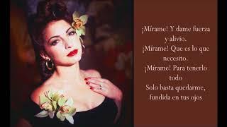 Tus Ojos - Gloria Estefan - (Lyrics)