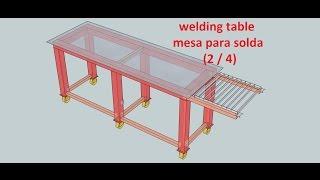 Welding Table - Mesa Para Solda (2/4)
