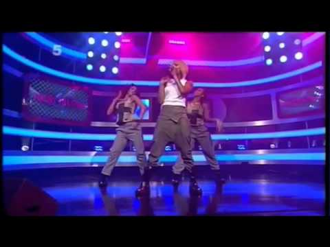 Keri Hilson Pretty Girl Rock  Live On UK's OK! TV W/dancer Brittany Perry-Russell