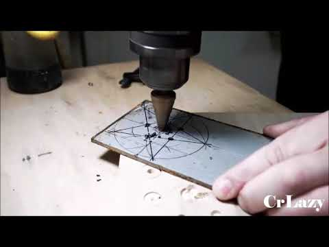 How to make a Steel Ninja Star Fidget Spinner