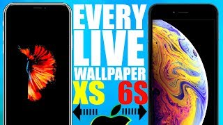 Download Every Iphone Live Wallpaper (live Fish)  / Iphone 6s 7 X Xs Live Wallpaper Download