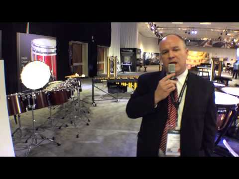 2014 Winter NAMM Yamaha Concert & Marching Percussion