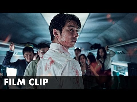 TRAIN TO BUSAN - Zombies on train clip -...