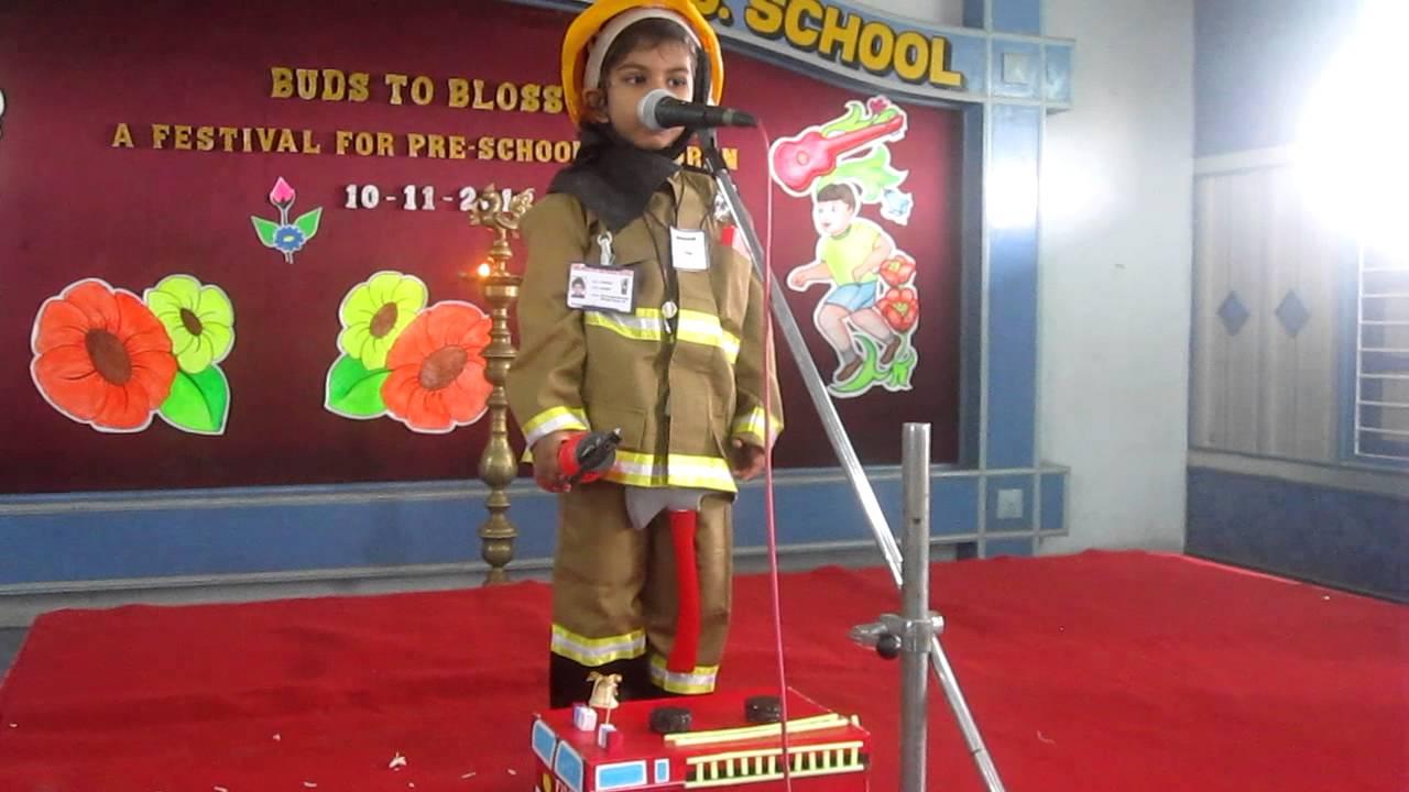 few lines on fireman