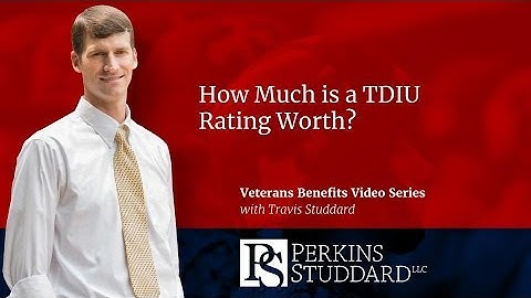 How Much is a TDIU Rating Worth?