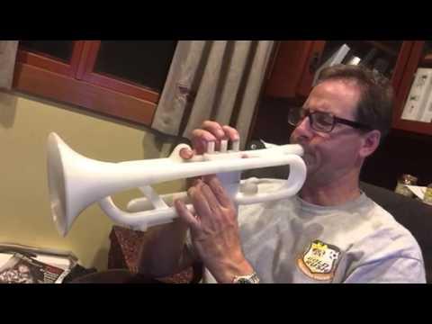 3D printed trumpet