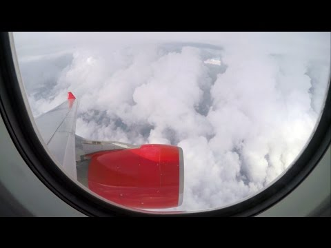 ✈ airberlin A330-200 Turbulence During Holding Near New York [4K] ✈