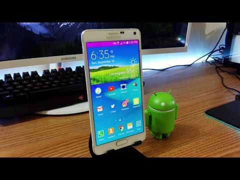 Samsung Galaxy Note 4 in 2017