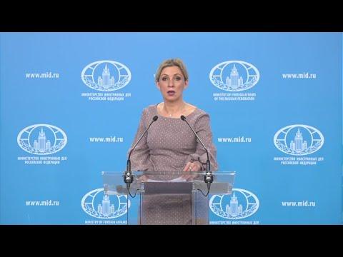 Срочно! Мария Захарова о последних данных и мерах спасения россиян из-за КОРОНАВИРУСА