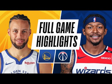 WARRIORS at WIZARDS | FULL GAME HIGHLIGHTS | April 21, 2021