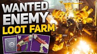 Wanted Enemy Loot Farm! - Get Tangled Shore Weapons, Armor, & Mods! (Destiny 2 Forsaken)
