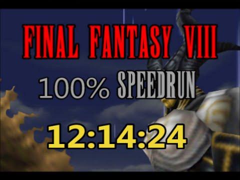Final Fantasy VIII 100 Speedrun In 121424 YouTube