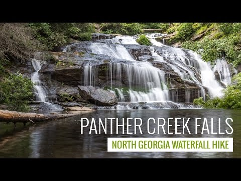 Panther Creek Falls Trail: hiking to one of North Georgia's most beautiful waterfalls