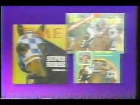 Secretariat Eclipse Award 1989 Goodbye Tribute