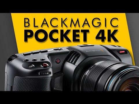Audio Features - Blackmagic Pocket Cinema Camera 4K - YouTube