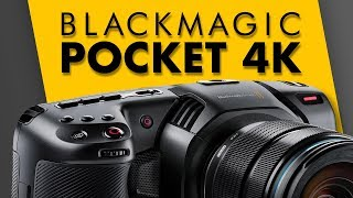 Audio Features - Blackmagic Pocket Cinema Camera 4K