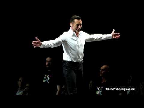 Hugh Jackman - A MILLION DREAMS - Madison Square Garden, New York City - 6/28/19