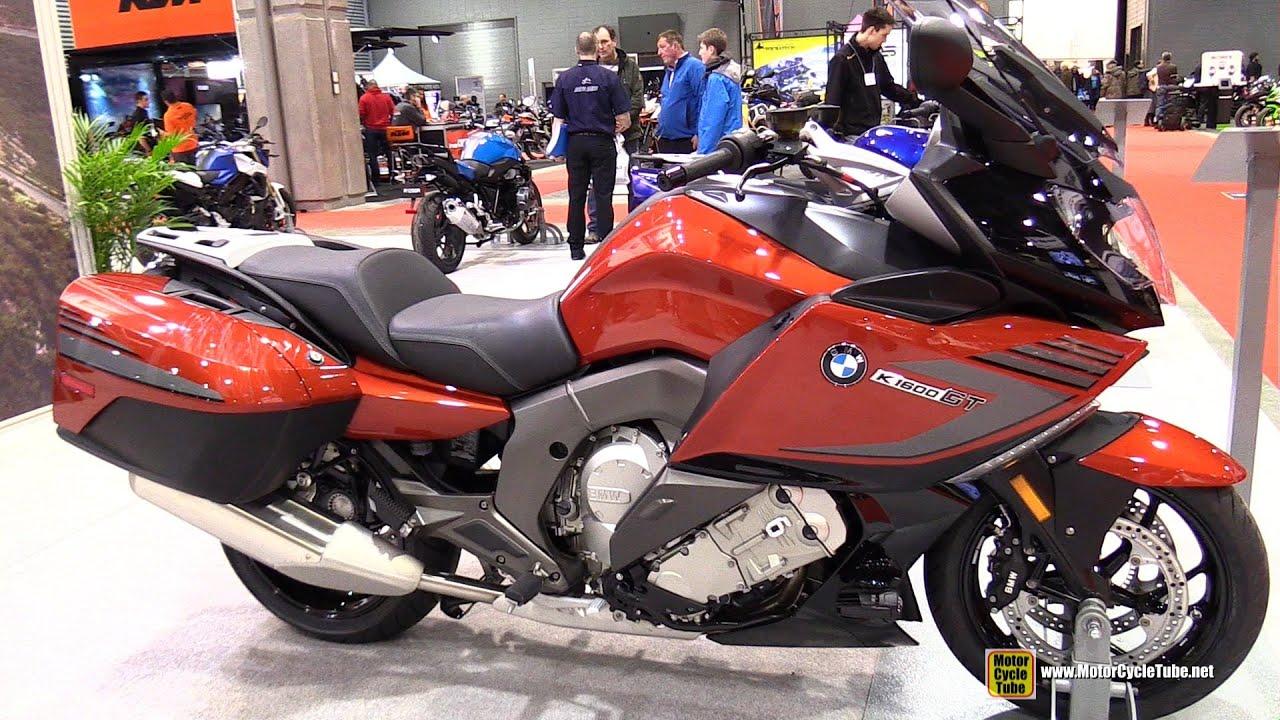 2015 BMW K1600GT - Walkaround - 2015 Salon Moto de Quebec - YouTube