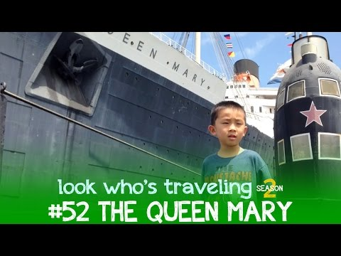 Tour The RMS Queen Mary (Long Beach California Attractions): Look Who's Traveling
