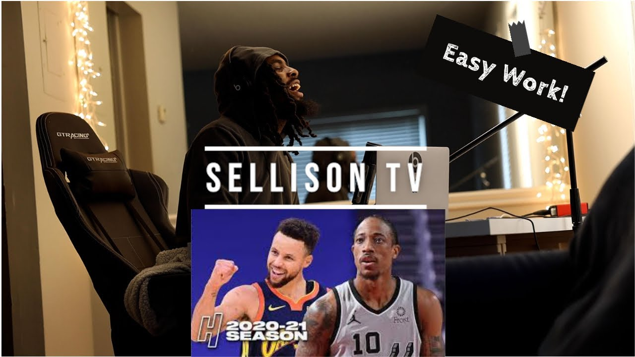 Download Stephen Curry and James Wiseman COOKED! Reaction to the Warriors vs the Spurs 01-21-2021 | Sellison