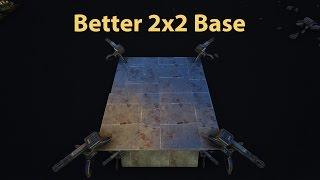 Ark Builds - Low Profile 2x2 Compact Base Design