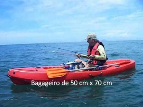 e7c68d1a2 Caiaker Pinguim Fishing.wmv - YouTube