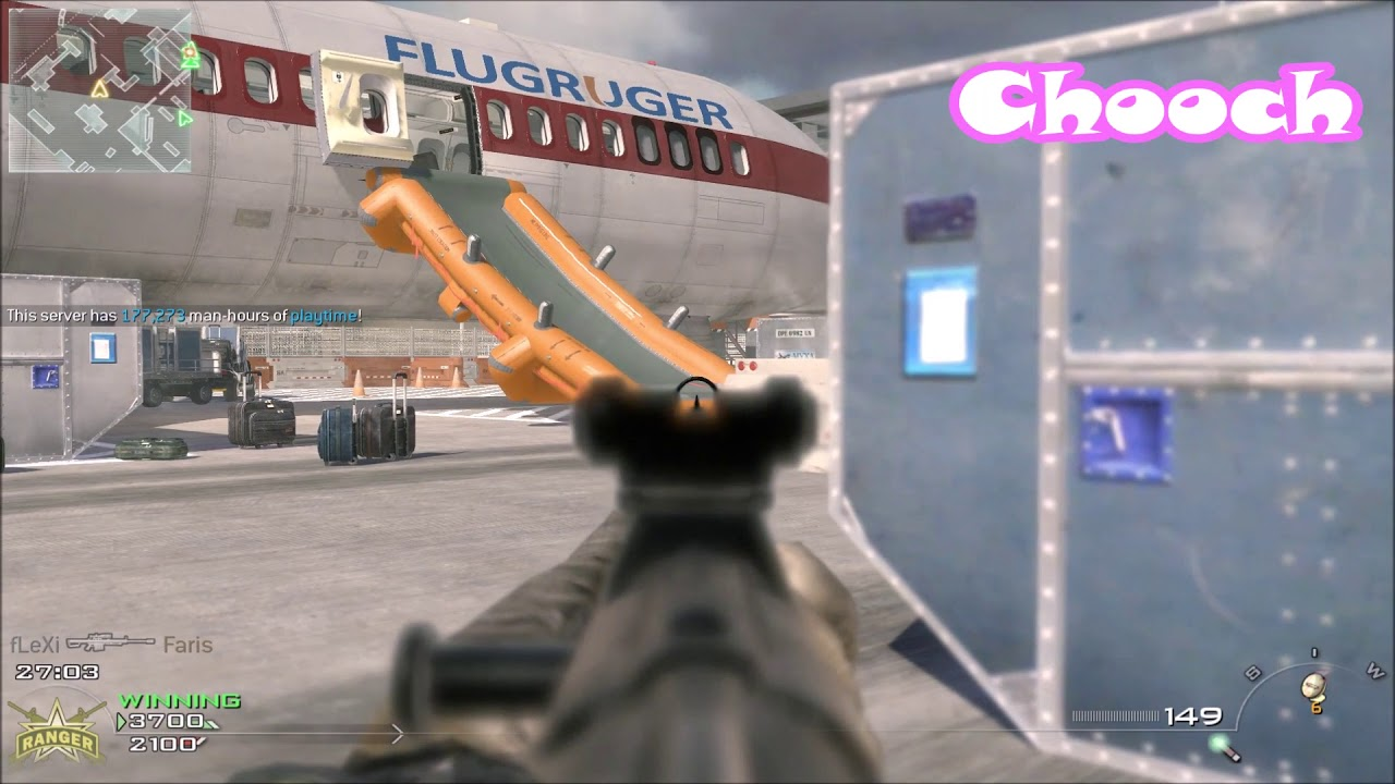 5 Modern Warfare Remastered Weapons in MW2/IW4x