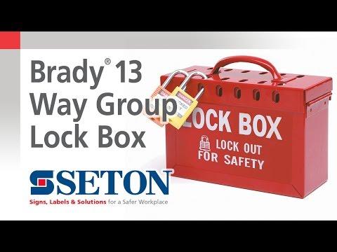 How To Use A Brady® 13 Way Group Lock Box | Seton Video