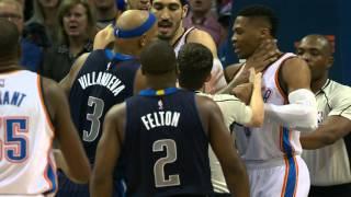 Dallas Mavericks vs Oklahoma City Thunder - January 13, 2016