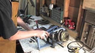 Colt front suspension assembled & installed