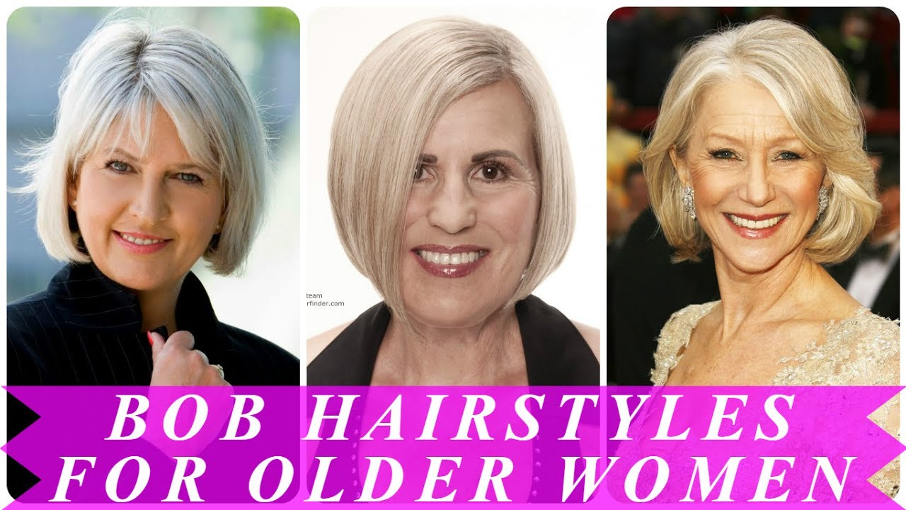 Best Bob Hairstyles For Older Women