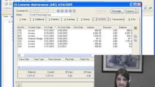 MAS 90 (Sage 100) Accounts Receivable - Customer Maintenance
