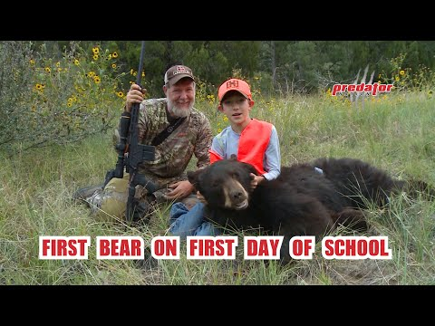 First Bear on First Day of School – Colorado Bear Hunt