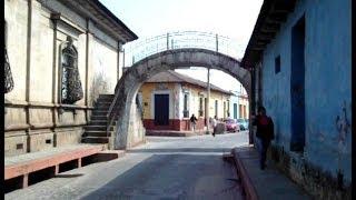 Quetzaltenango, Calles y edificios de xela, Guatemala