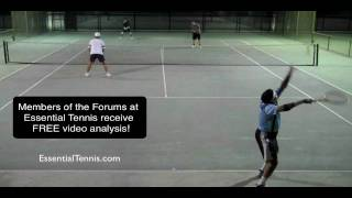 Covering The Lob In Doubles