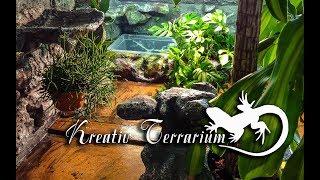 Terrarium fr Blue Teju selber bauen Vollstndige Beschreibung in Bild und Video auf Deutsch