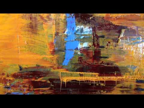 Abstract Oil Painting - artist Patrick John Mills talks about life and  painting techniques