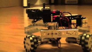 Omniwheel Tetrix robot