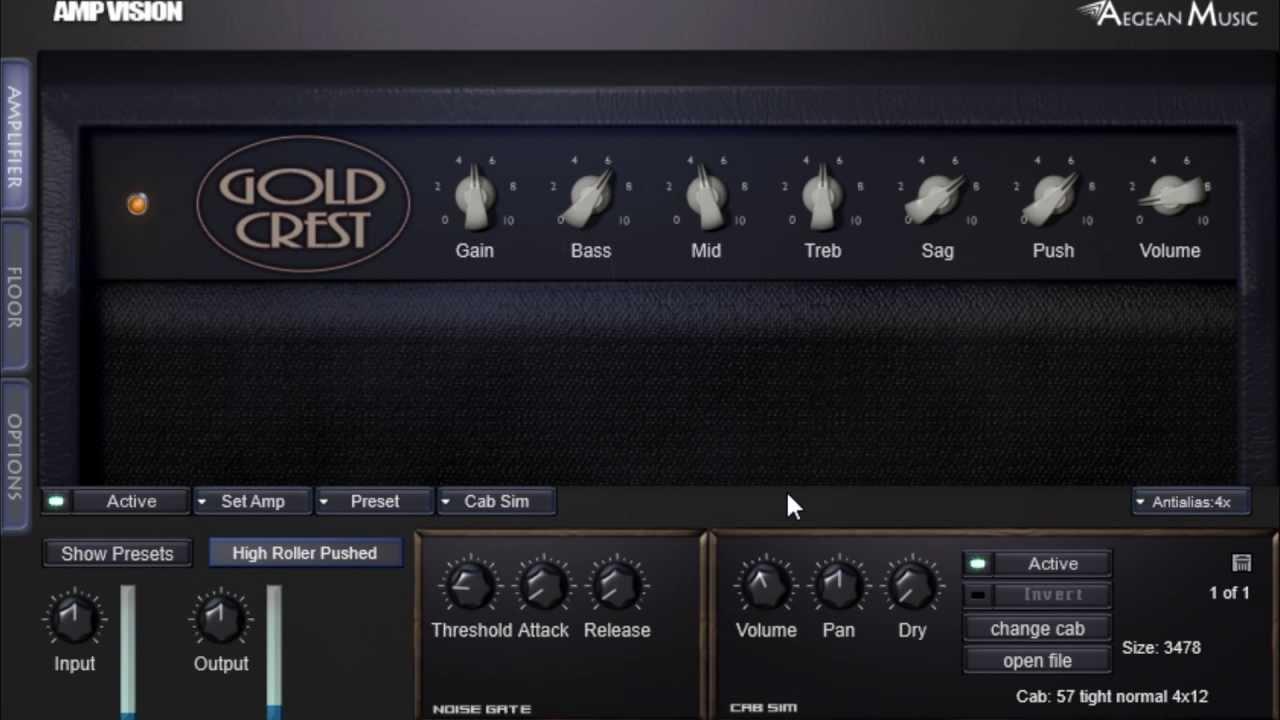 Amp Vision Vst Guitar Effect Plugin Clean Twang Demo Youtube