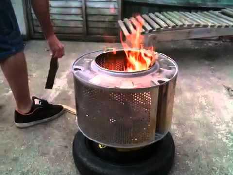 Washing Machine Bbq Youtube