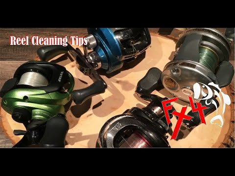 Fx4 Reel Cleaning Tips.