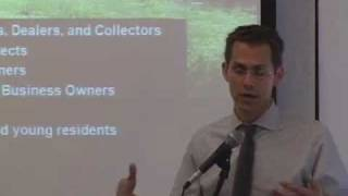 NYC High Line Co-founder Robert Hammond speaks at NYU