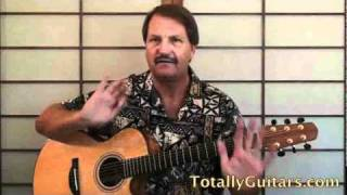 Puff The Magic Dragon - Peter, Paul & Mary Free Guitar Lesson