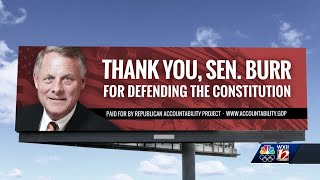 Anti Trump group praises Sen. Burr for his vote to convict the former president of inciting riot ...